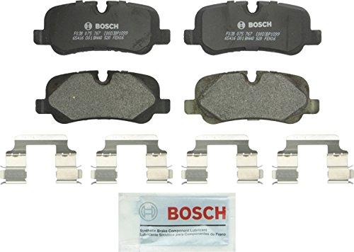 Bosch BP1099 QuietCast Premium Semi-Metallic Disc Brake Pad Set For: Land Rover LR3, LR4, Range Rover, Range Rover Sport, Rear