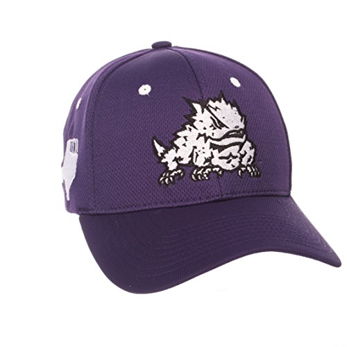 Tcu Horned Frogs Baseball - Zephyr NCAA TCU Horned Frogs Men's Rambler Hat, Medium/Large, Team Color