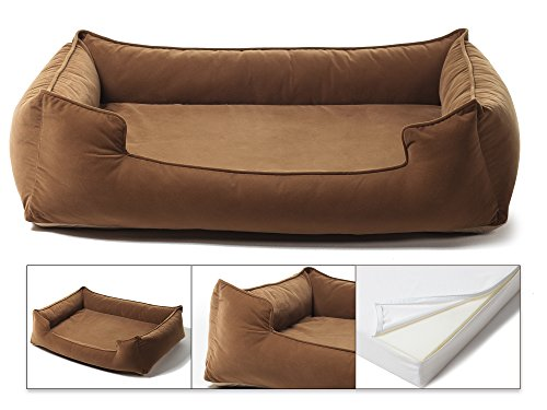 "Petsbao Premium Dog Bed with 4"" Solid Memory Foam 