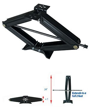 Ultra-Fab Products 48-979006 24'' Ultra Scissor Jack by Ultra-Fab Products
