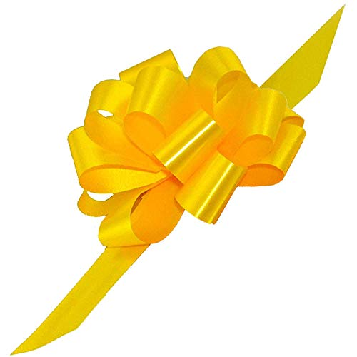 Daffodil Easter Basket Pull Bows, 5
