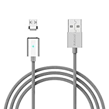 dodocool USB Charging Cable, Magnetic Micro USB Charge Sync Data Cable with LED Indicator 3.9ft Android Charging Adapter for Smart Phones and Tablets