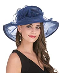 The design hats are embellished by the lace edge, bowknot flowers, feather and mesh. Item color displayed in photos may be showing slightly different from on your computer monitor since monitors are not the same resolution. As the fluffy volu...