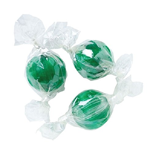 Atkinson Spearmint Hard Candy Balls - 1 Pound - Approx 72 Pcs (Mint Atkinsons Twist)