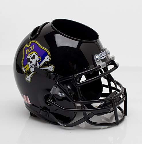 NCAA East Carolina Pirates Jolly Roger Black Helmet Desk Caddy, One Size (Pirates Helmet Carolina Ncaa East)