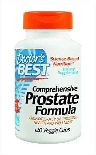 Doctor's Best Comprehensive Prostate Formula,Veggie Caps, 120-Count (Pack of -