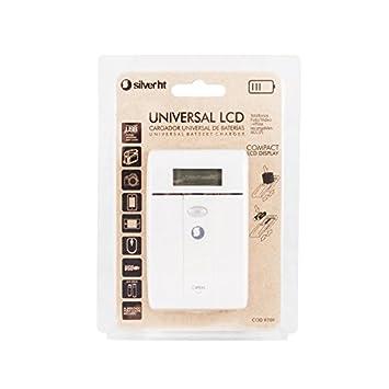 SilverHT 9709 - Cargador universal de baterías, color blanco ...