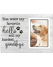 Dog Memoria Picture Fram