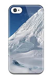 Cute Appearance Cover/tpu KHehvmF7292HBJzv Alpamayo Peak Snow Nature Other Case For Iphone 4/4s