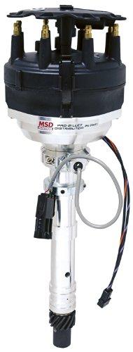 MSD 23451 Pro-Billet Cam Sync Distributor (Hall-Effect, Large Cap)