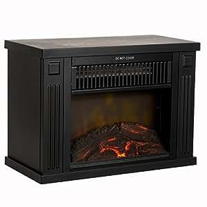 Northwest 80 Ef480 B Portable Mini Electric Fireplace Heater 13 Black