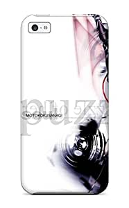 High Impact Dirt/shock Proof Case Cover For Iphone 5c (ghost In The Shell)