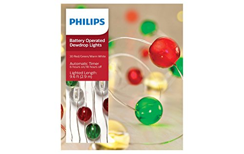 Philips Green Led Christmas Lights - 5