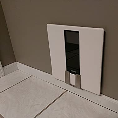 Bathroom Scale Storage Bracket, bathroom organization for a convenient out-of-the-way scale location