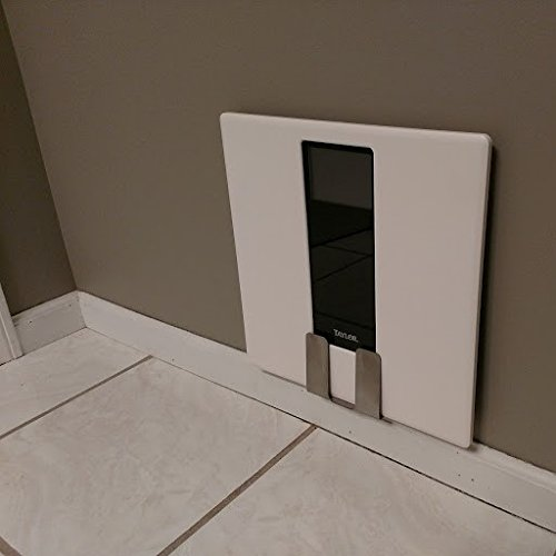 Bathroom Scale Storage Bracket, bathroom organization for a convenient out-of-the-way scale location -