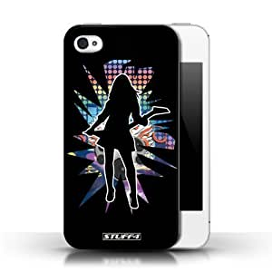 KOBALT? Protective Hard Back Phone Case / Cover for For Case Samsung Galaxy S5 Cover   Rock Chick Black Design   Rock Star Pose Collection