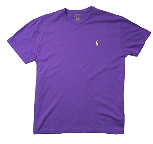 Ralph Lauren Herren T-Shirt rot rot Gr. M, Purple Crew