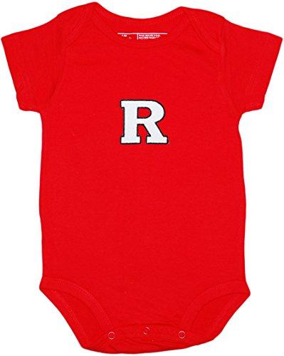 Creative Knitwear Rutgers University Scarlet Knights Baby Bodysuit
