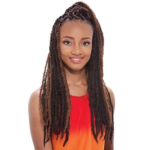 Afro Marley Braid (kanekalon) by Janet Collection-4(medium brown)