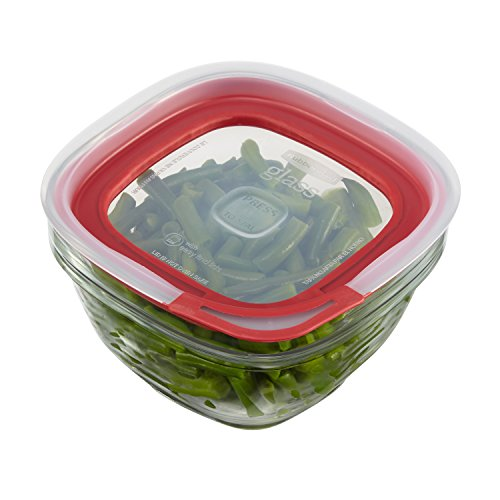 Rubbermaid Easy Find Lids Glass Food Storage Container 22