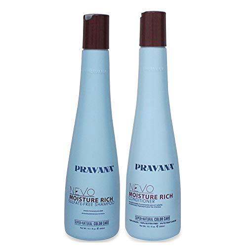Pravana Nevo Moisture Rich Shampoo 10.1 & Conditioner 10.1 Set (Moisture Rich Shampoo)