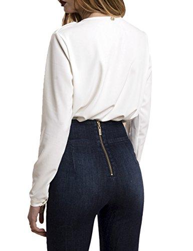 Donna Bianco Milk Camicia Elsemik relish v147Yfv