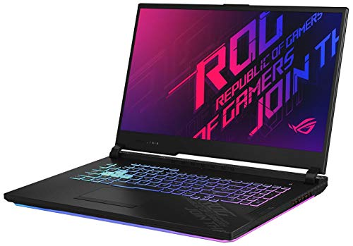 "XPC ROG Strix G17 Gamer Notebook Computer 17.3"" 144Hz IPS Type FHD Intel Core i7 10th Gen 10750H GeForce RTX 2070 16 GB DDR4 Memory 512GB NVMe SSD Windows 10 R GB KB Gaming Laptop PC"