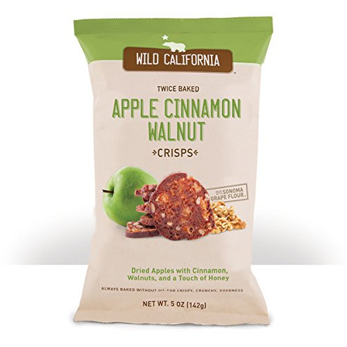 Wild California Apple Cinnamon Case of 8, 5 Ounce (Twice Baked Potato)