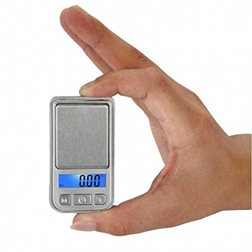 Bemall 0.01g-100g Mini Ultrathin Jewelry Drug Digital Portable Pocket (Mp3 Player Charm)