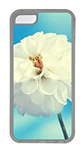 A Large White Flowers Under The Blue Sky Cases For iPhone 5C - Summer Unique Cool 5c Cases