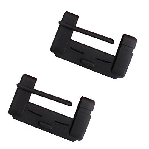 - BleuMoo Car Seat Belt Buckle Covers Universal Anti Scratch Provide Prevention Cover Silica Gel Damping Car (black)