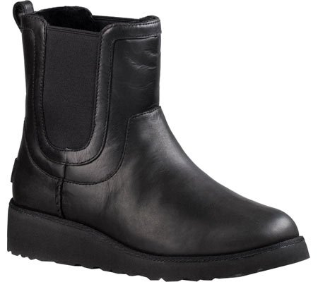 Sale alerts for  UGG Women's Britt Leather Boot Black Size 7.5 B(M) US - Covvet