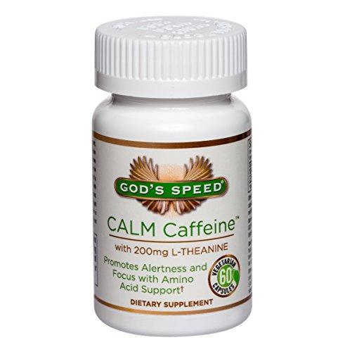 CALME caféine - 200mg de caféine Pure + 200mg L-théanine au calme concentré d'énergie