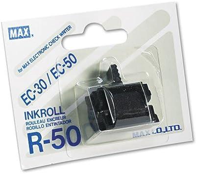 Ec-30 And Ec-50 Check Ec-70 Max R-50 Black Ink Roller For Ec-30a r50