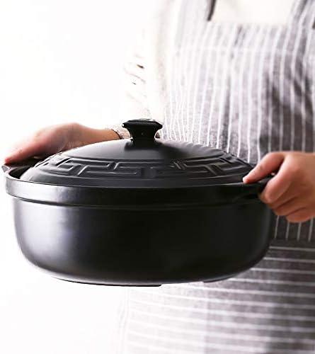土鍋 割れることなく800℃ ノンスティックパン健康的で環境に優しい 流出防止ポット省エネホーム