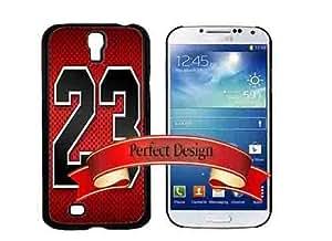Michael Jordan Red 23 Bulls Jersey Galaxy S4 Phone Case