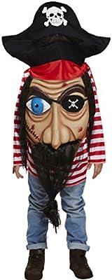 Jumbo Cara Pirate del Caribe Disfraz infantil niño niña Edad 4-12 ...