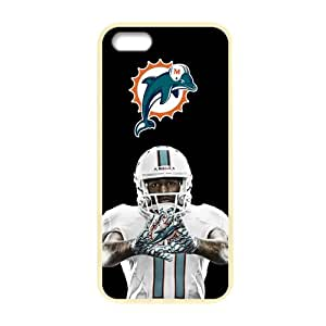 iphone 5 5s case discount yellow border Cases for Iphone 5,5S Apple miami dolphins
