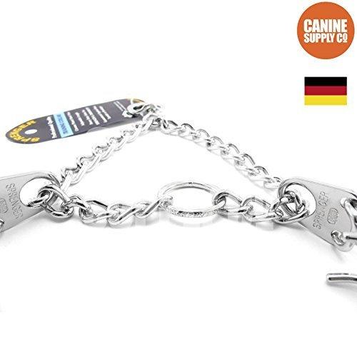 Herm Sprenger HS Chrome 22'' 3.0mm Medium Prong Collar For Dogs