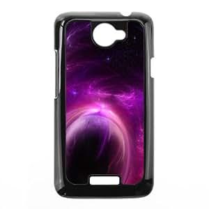 Purple Solar Storm HTC One X Cell Phone Case Black DIY Gift zhm004_6640038