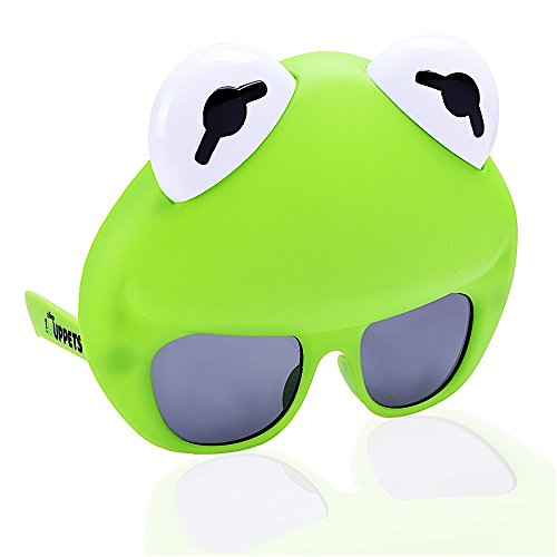 Sun-Staches Costume Sunglasses Muppets Kermit Party Favors UV400