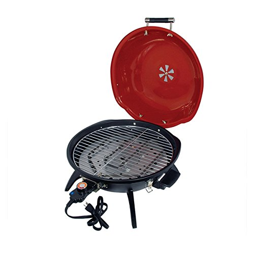 Better Chef 15-inch Electric Cast Iron Tabletop Barbecue Grill