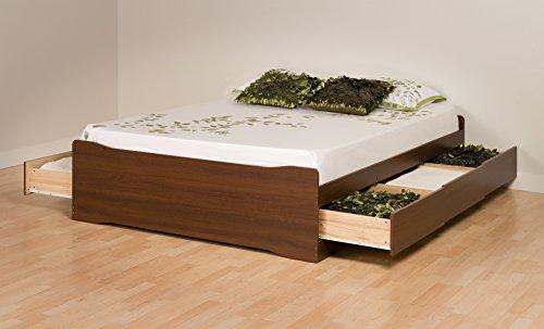 Prepac Full Platform Storage Bed - LBD-5600-3KV