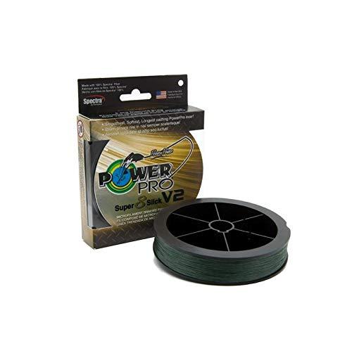 Power Pro 31500651500E SSV2 65 Lb 1500 Yd Moss Green (Power Pro Fishing Line 1500 Yards)