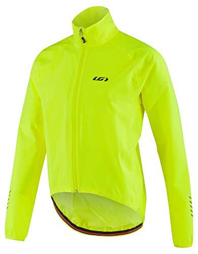 Louis Garneau Men's Granfondo 2 Bike Jacket, Bright Yellow, Medium