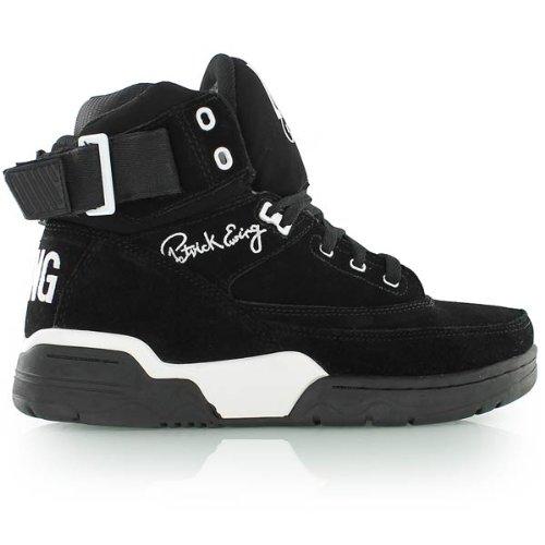 Patrick Ewing Athletics Ewing 33 HI Mens Basketball Shoes 1EW90013-018 Black White 7 M