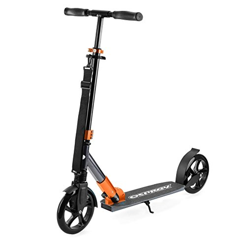 Osprey XS2 Big Wheel Scooter Foldable with Adjustable Handle Bars - Copper