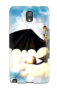 Hot Protective Tpu Case With Fashion Design For Galaxy Note 3 (japanese Hiccup Dragon Wallpaper) 2490387K40315592