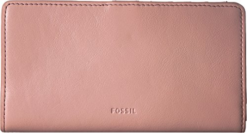 Fossil Embossed Wallet - Fossil Women's Caroline RFID Slim Bifold Wallet Cherry Blossom One Size