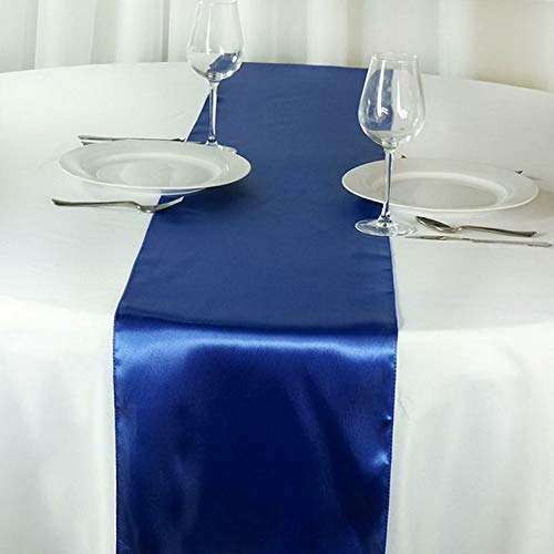 Mikash 5 Pack ~New~ Satin Table Runner Wedding Party Banquet Decoration 15+ Colors! | Model WDDNGDCRTN - 19410 | ()
